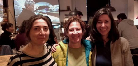 Foto en Toma 3 - Eugenia Llull pedaleando de a favor de los refugiados - 30 Días en Bici 2017 [12/30] - Desde Gijón y en Bicicleta