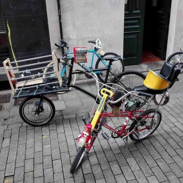 """Bicicletas musicales del """"Concierto Doppler para Bicicletas en Movimiento"""" en el 28/30 de #30diasenbici 2018"""