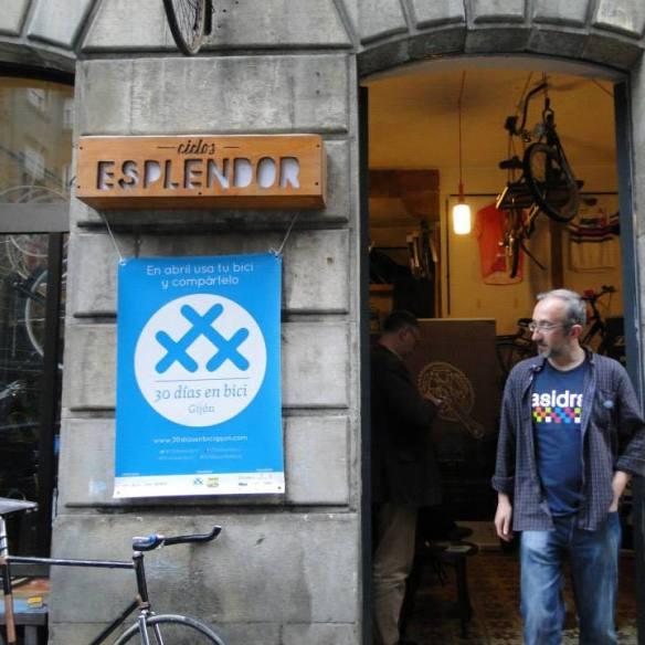 Foto de Ciclos Esplendor, #tallerdebicicletas Día 28 de #30díasenbici. Taller de bicicletas - Desde Gijón y en Bicicleta